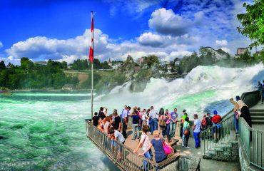 Rheinfall Schaffhausen Foto: Albrecht Fietz/pixabay.de