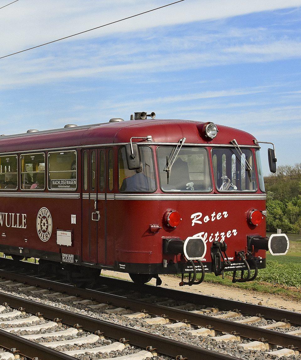 Der Rote Flitzer zwischen Lauffen und Heilbronn