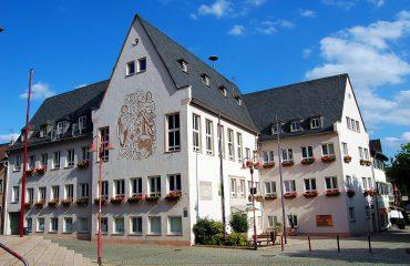 Rüdesheim am Rhein, Rathaus Foto: Thomas Max Müller / pixelio.de