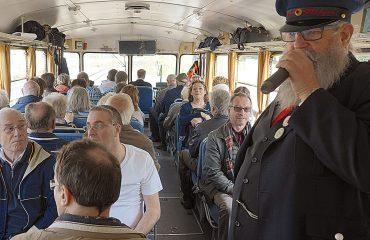 Schienenbus innen