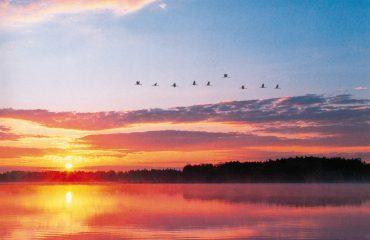 Sonnenuntergang Masuren