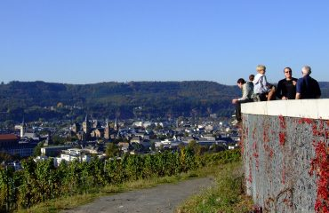 Trier Panorama Petrisberg Foto: Tourist-Information Trier