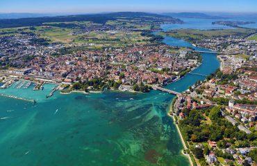 Luftaufnahme Konstanz Foto: Achim Mende