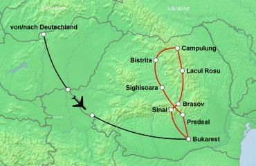 Karte-Moldau-Siebenbuergen