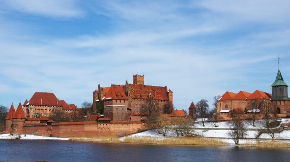 Marienburg im Winter