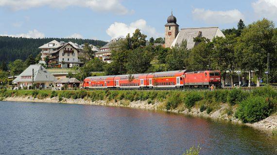 Dreiseenbahn am Schluchsee Foto: wikipedia.org