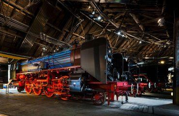 Dampflok Eisenbahnmuseum Neuenmarkt Foto: Eisenbahnmuseum