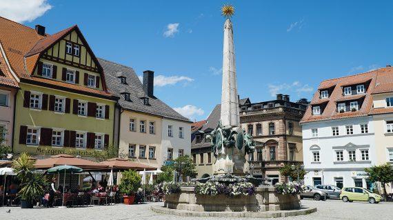 Kulmbach Marktplatz  Foto: pixabay.de