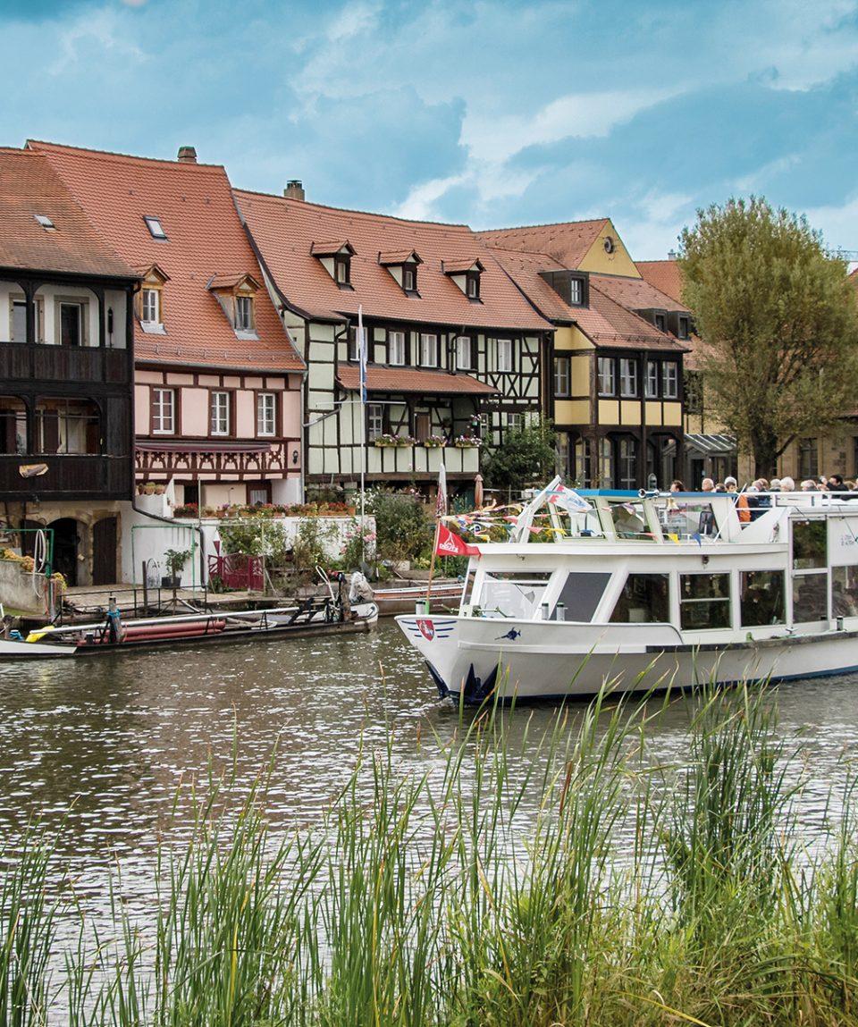 Bamberg, Fischerhäuser am Main Foto: pixabay.de